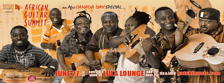 African Guitar Summit: Jun 27, 2013