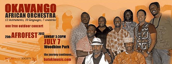 Okavango @ Afrofest: Jul 7, 2013