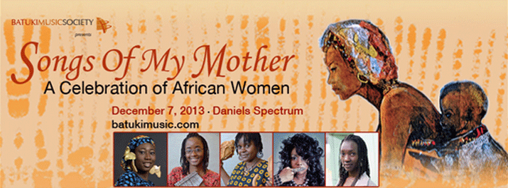 Songs Of My Mother: Dec 7, 2013