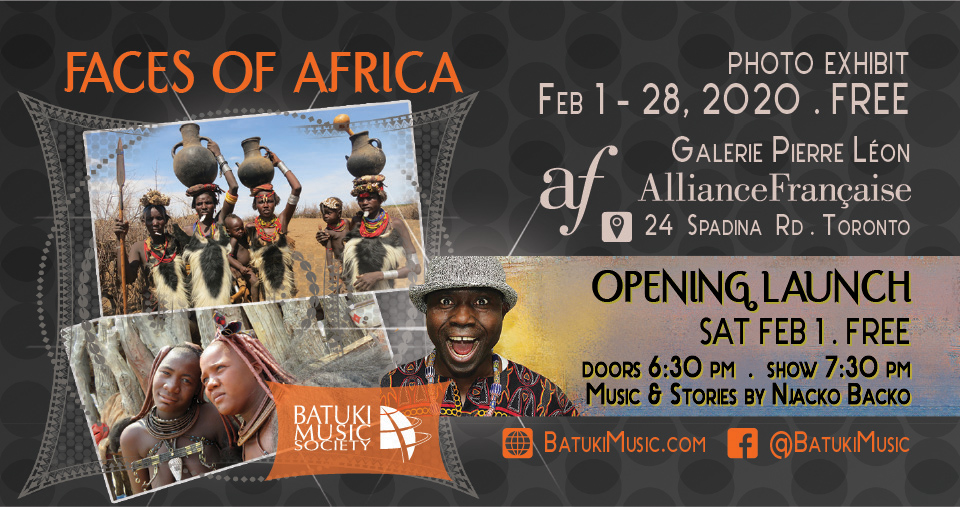 Faces of Africa Photo Exhibition: Feb 1 – 28, 2020