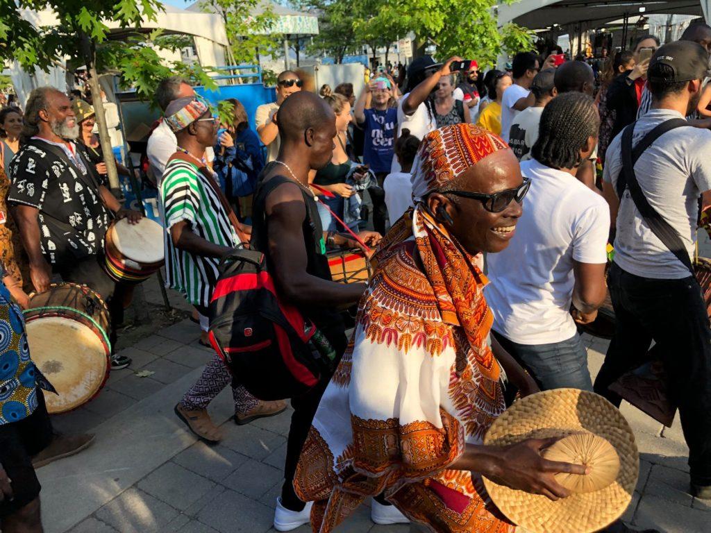 batuki music society toronto ontario canada africa african art culture artists nadine mcnulty otimoi oyemu habari concert community drumming