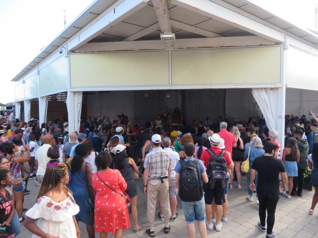 batuki music society toronto ontario canada africa african art culture artists nadine mcnulty otimoi oyemu habari concert audience harbourfront centre