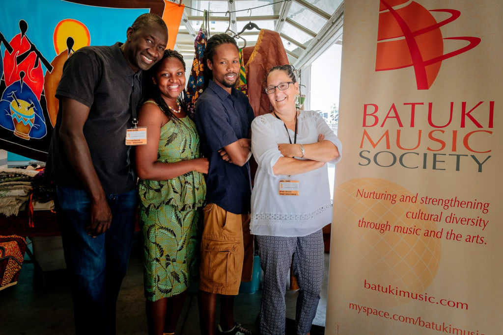 batuki music society toronto ontario canada africa african art culture artists nadine mcnulty otimoi oyemu habari concert team