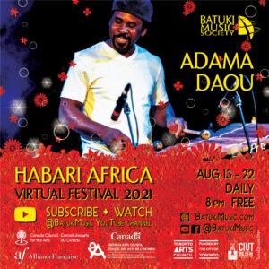 Habari Africa Virtual Festival 2021 : Adama Daou