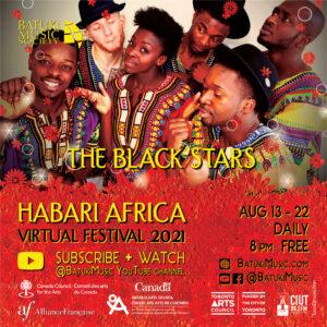 Habari Africa Virtual Festival 2021 : The Black Stars