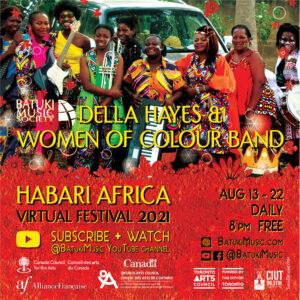 Habari Africa Virtual Festival 2021 : Della Hayes & Women of Colour Band
