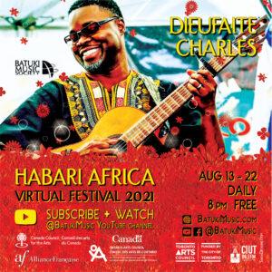 Habari Africa Virtual Festival 2021 : Dieufaite Charles