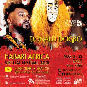 Habari Africa Virtual Festival 2021 : Donald Dogbo