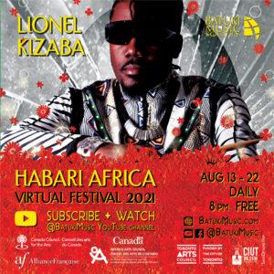 Habari Africa Virtual Festival 2021 : Lionel Kizaba