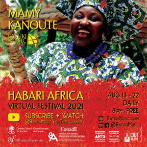 Habari Africa Virtual Festival 2021 : Mamy Kanoute